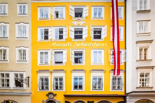 Mozart´s Birthplace
